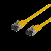 Kabelis DELTACO Cat6a, 5m, 1.9mm, 500MHz, geltonas / UFTP-2063