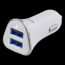 Auto įkroviklis DELTACO 3,4A, 2xUSB, USB-CAR101