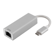 "ADAPTERIS DELTACO PRIME USB 3.1 ""C-1xRJ45"" / USBC-1077"