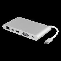 DELTACO USB-C jungčių stotelė DELTACO USBC-1274