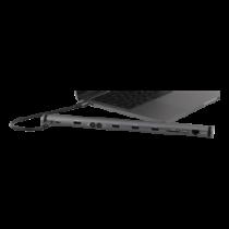 DELTACO USB-C prijungimo stotis, 100W USB-C PD, 4K HDMI, USB 3.1 Gen 1,