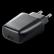 DELTACO Sieninis įkroviklis 240V iki 5V USB, 3A / 15W, 1xUSB-C, juodas / USBC-AC108