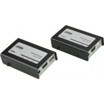 ATEN HDMI and USB Extender over Ethernet, 3D, 1080p up to 60m, HDCP, Black VE803