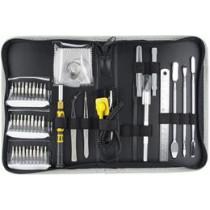 Įrankių rinkinys skirtas mobiliųjų telefonų ar kitų prietaisų taisymui, 45 vnt. DELTACOIMP / VK-46
