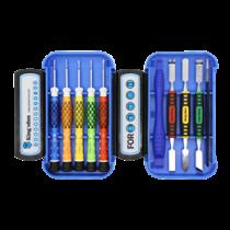Išmaniųjų telefonų remonto komplektas, 10 vnt., Precizinis CRV DELTACOIMP mėlynas / VK-52