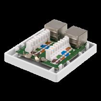 Adapteris DELTACO DisplayPort, balta / VR-221