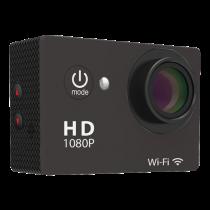 Veiksmo kamera DELTACO Full HD, 1080p, juoda / W8