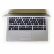 Nešiojamas kompiuteris Nuklonas  WorkBook U8140 Pilkas / 158106984212713581