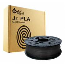 3D XYZprinting da Vinci Junior / Mini PLA filament, 1.75 mm, 600g, black RFPLCXEU01B / 10573