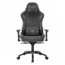 Gaming chair L33T GAMING Elite V4 (SOFT CANVAS) - Dark grey / 160371