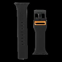 UAG Apple Watch 44mm/42mm Civilian Strap Black/Orange 283385