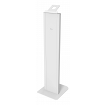 Floor stand DELTACO OFFICE with anti-theft enclosure for iPad 9.7/10.2, white / ARM-0513