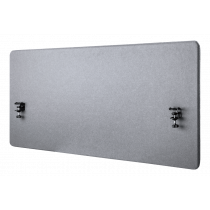 Acoustic Integrity Panel for desk DELTACO OFFICE 1200 (W) x600 (H) mm, gray / DELO-0150