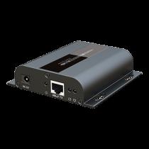 HDMI extender DELTACOIMP up to 120m, 1080p in 60Hz, IR, RS232, black / HDMI-266