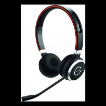 Jabra Evolve 65 UC stereo - Headset - on the ear - Bluetooth - wireless - NFC - USB/ JABRA-407