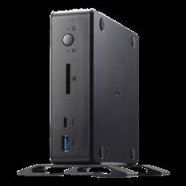 PC Shuttle XPC Nano barebone, Intel Celeron 4205U 1.8 GHz, 2xSO-DIMM 2133 slots, black / PFB-NC10U001 / NC10U