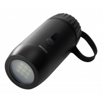 Power bank DELTACO 15 000 mAh, IP67, USB-A and C, flashlight, SOS LED / PB-Q1002