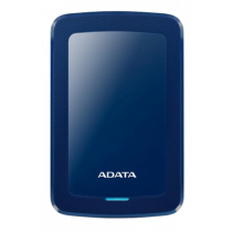 ADATA 1TB External Hard Drive, 10.3mm, USB 3.1, Quick Start, Blue  AHV300-1TU31-CBL / ADATA-430