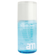 Screen cleaner AM 200ml, cleaning kit for all types of displays / AM80118