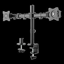 """Desk mount DELTACO OFFICE 13""""-27"""", 8kg, 75x75-100x100 / ARM-0300"""