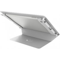 "Desk stand for 9.7 ""iPads, 125 tilt, aluminum, white / ARM-272"