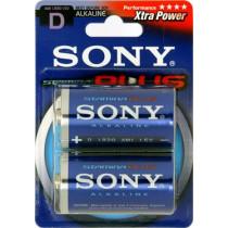 Batteries SONY Stamina Plus, LR20 / D, alkaline, 1.5V, 2-pack / BAT-111