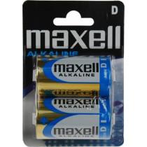 Batteries Maxell D (LR20), Alkaline, 1,5V, 2-pack /  BAT-520