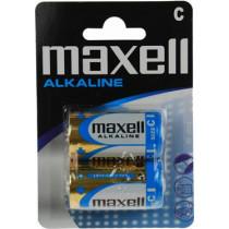 Batteries Maxell C (LR14), Alkaline, 1,5V, 2-vnt / BAT-521