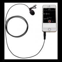 Boya BY-LM10, Lavalier microphone, 3.5 mm, omnidirectional, 1.2 m cable, black / BOYA10005