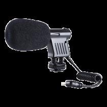 Condenser icrophone BOYA for digital SLR cameras, black / BOYA10012