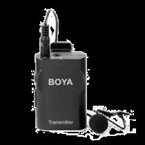 Wireless Lavender Microphone, real-time monitoring, powered by an AA battery, black BOYA / BOYA10084