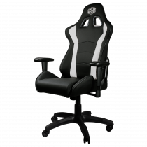 Gaming chair COOLER MASTER Caliber R1, white / CMI-GCR1-2019W