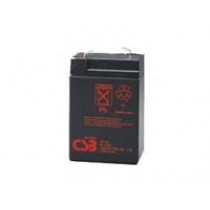 Lead acid battery 6V 4.5Ah F1 Pb CSB CSB-GP645