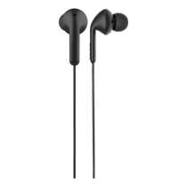 Earphone DeFunc Go MUSIC, black / D0131