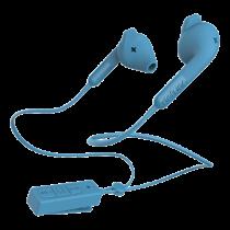 Ausinės DeFunc BT HYBRID with microphone, blue / D0244