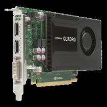 Graphics card HP Nvidia Quadro K2000 Graphics, 2GB GDDR5  713380-001/ DEL1008180