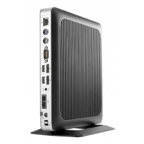 HP T630 Client, 32GB Flash Memory, Radeon R6E Graphics, 4GB RAM, 2x DP 1.2, Black  X4X19AA / DEL1009231