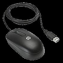 HP Optical Scroll Mouse, USB, Black DC172B / DEL1009640