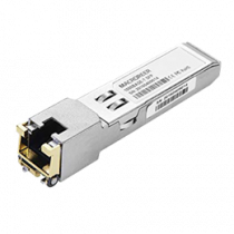 Aruba Cat5e - SFP Transmitter / Receiver Module (mini-GBIC) - GigE - 1000Base-T - RJ-45 - up to 100m - for HPE Aruba 8320 HPE / DEL1009946