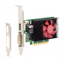 NVIDIA GeForce GT730 - Graphics Card - GF GT 730 - 2GB DDR3 - PCIe x8 low profile - DVI, DisplayPort - for HP 285 G3; EliteDesk 800 G3 (SFF, tower), 800 G4; ProDesk 400 G4, 600 G3 (microtower, SFF) HP / DEL2000455