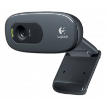 Logitech HD Webcam C270 - Webcam - color - 1280 x 720 - audio - USB 2.0   DEL2021542