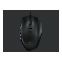 Logitech G600 MMO gaming mouse, 26 buttons, RGB, DPI switch, black / DEL3006395