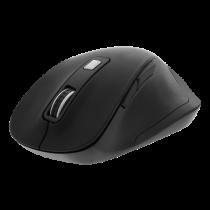 DELTACO Office ergonomic mouse, silent clicks, wireless 2.4G, 2400 DPI black DELO-0310