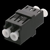 DELTACO Snap-in fiber mating sleeve, 2xLC-LC, Single mode, duplex, FBP-1044