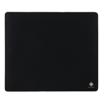 Mouse pad DELTACO GAMING 320x270x2mm, black / GAM-005