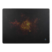 Mouse pad DELTACO GAMING 350x260x3mm, black / GAM-007