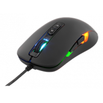 Mouse DELTACO GAMING wired, 800-2000 DPI, 125 Hz, LED, USB, Black / GAM-029