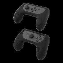 DELTACO GAMING silicone controller GRIPS for Nintendo Switch Joy-Con, black / GAM-032