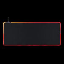 RGB Mousepad, 90x36cm, 3xRGB modes, 5xStatical modes, black DELTACO GAMING / GAM-067
