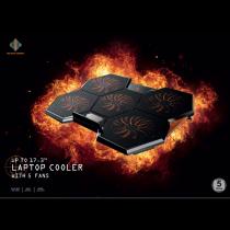 Laptop cooler DELTACO GAMING 5 high speeds fan / GAM-072